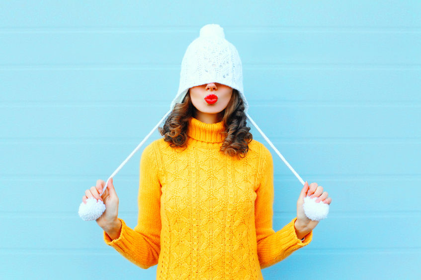 féminine et confortable en hiver