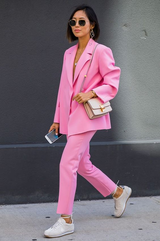 Look rose femme
